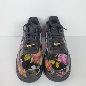 Nike Air Force 1 '07 LXX Low Black Floral WMNS 8